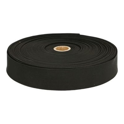 Elastiek 3,5 cm (zwart)