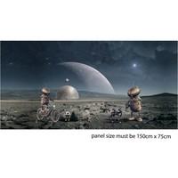 Stenzo - Leven op Mars - tricotpaneel