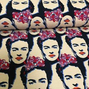 Frida Kahlo - Blauw/Rood