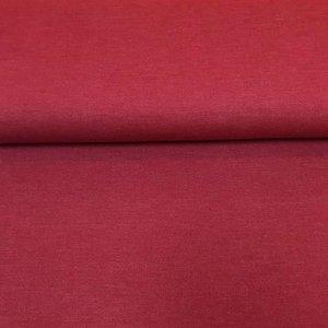 Tricot denim look - Rumba rood (Bio)