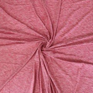 Slub tricot (Bio) -  Warm rood