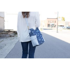Noodlehead Compass bag  - Patroon