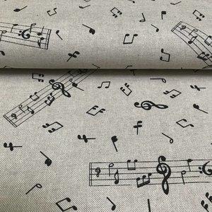 Swafing - Muzieknoten - Canvas