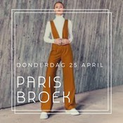 Broek Paris - Workshop (25/4)