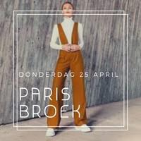 Broek Paris - Workshop (25/4)