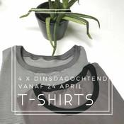 T-shirt I Dinsdagochtend 23 en 30/4, 7/5 en 14/5