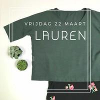 Lauren top - Workshop vrijdag 22 maart