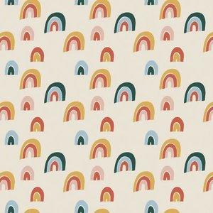 Elvelyckan - Rainbow Cream  - biotricot