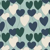 Elvelyckan - Happy Heart - Dusty Mint  - biotricot