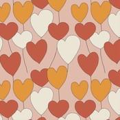 Elvelyckan - Happy Heart - Dusty Pink  - biotricot
