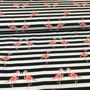 Hilco - Flamingo  strepen - Tricot