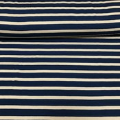 Froy & Dind - Stripes Marine - Tricot Bamboo