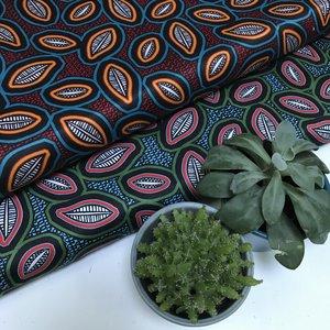 Bibbona groen - Stretchkatoen