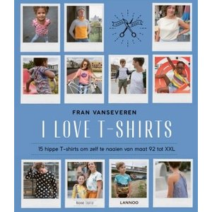Boek - I love T-shirts