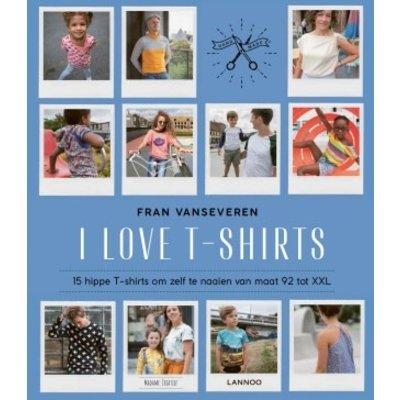 Boek - I love T-shirts