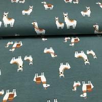 Megan Blue Fabrics - Drama Lama - tricot