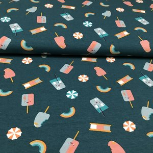Megan Blue Fabrics - Summer Sweets - Tricot