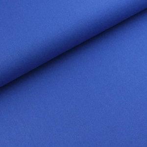 Kobalt Effen - Canvas
