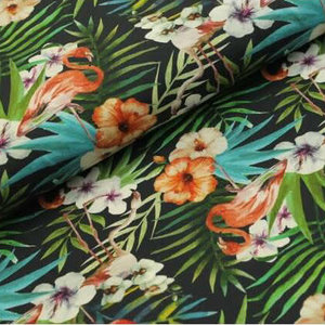 Megan Blue Fabrics - Flamingo - Tricot