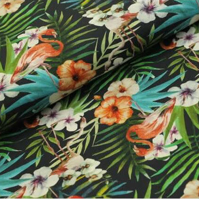 Megan Blue Fabrics - Flamingo - Tricot