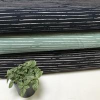 Single Stripes - Dark Old Green/Wit