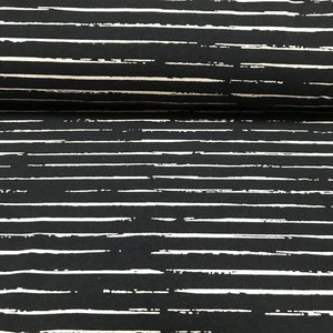 Single Stripes - Navy/Wit