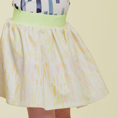 About Blue Fabrics - Neon Rain - French Terry