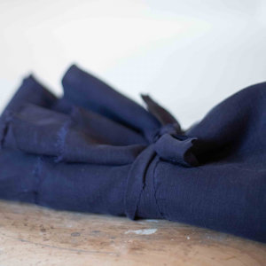 Meet Milk - Tencel Linnen Slub - Navy