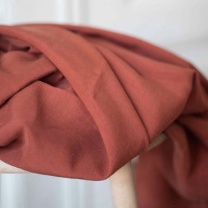Meet Milk - Tencel Linnen Slub - Terracotta