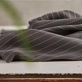 Meet Milk - Tencel pin stripe piqué - Grey