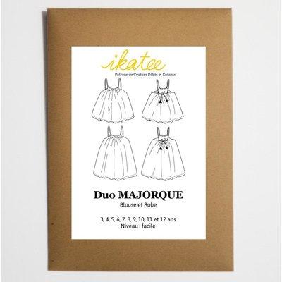 Ikatee - Majorque Duo - Patroon