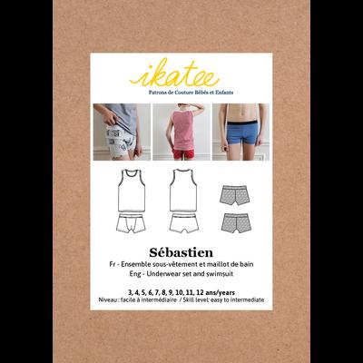 Ikatee - Sebastien Underwear - Patroon