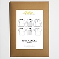 Ikatee - Marcel T-shirts Pack - Patroon