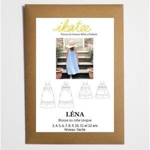 Ikatee - Lena Dress - Patroon