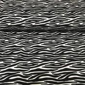 Stenzo - Zebraprint zwart - Tricot
