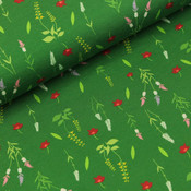 Megan Blue Fabrics - Little wild flowers - Tricot