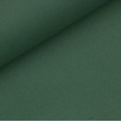Effen katoen - donkergroen