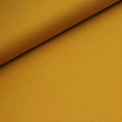 Effen katoen - geel