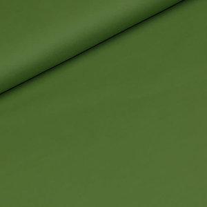 Effen katoen - Kiwi groen