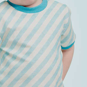 About Blue Fabrics - Diagonals blue