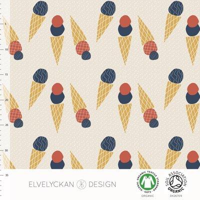 Elvelyckan - Ice Cream - Biotricot