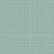 Elvelyckan - Grid Dusty Green - Biotricot