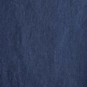 Damiel jeansblauw  - Prewashed linnen