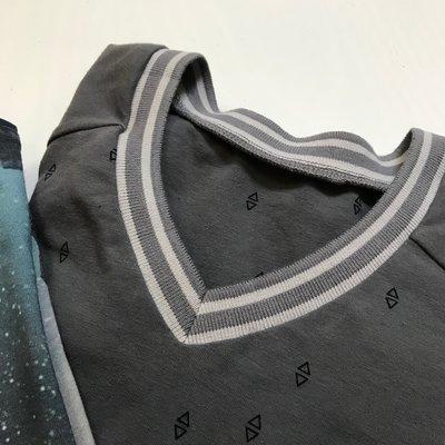 V-hals in tricot - Workshop