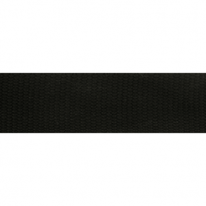Tassenband zwart 38 mm