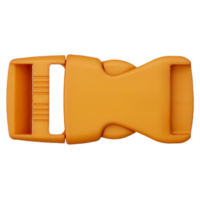Klikgesp - okergeel - 25 mm
