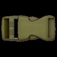 Klikgesp - groen - 25 mm