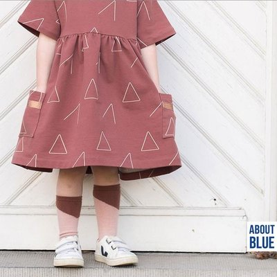 About Blue Fabrics - Wake Up Terracotta - French Terry