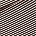 See you at six - Diagonals - Zwart, Wit & Koper - Canvas Gabardine Twill