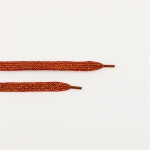 See you at six - Shoelaces - Spice rood met gouden lurex